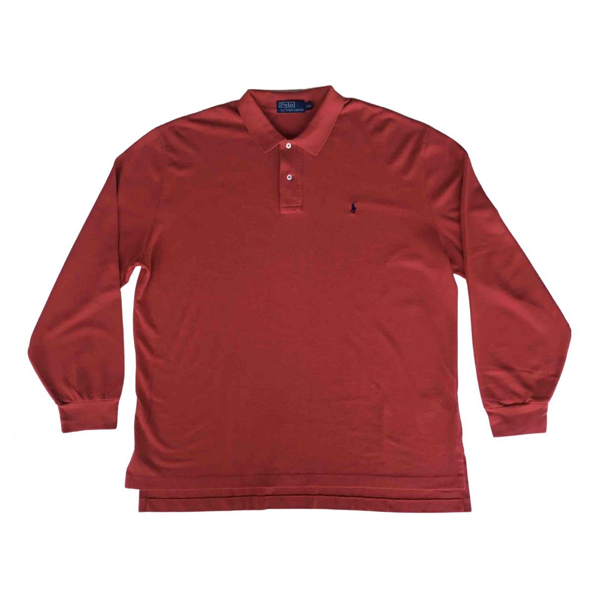 Polo Ralph Lauren - Polos Polo classique manches longues pour homme en coton - rouge