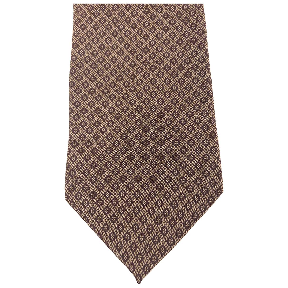 Giorgio Armani \N Krawatten in  Gold Seide