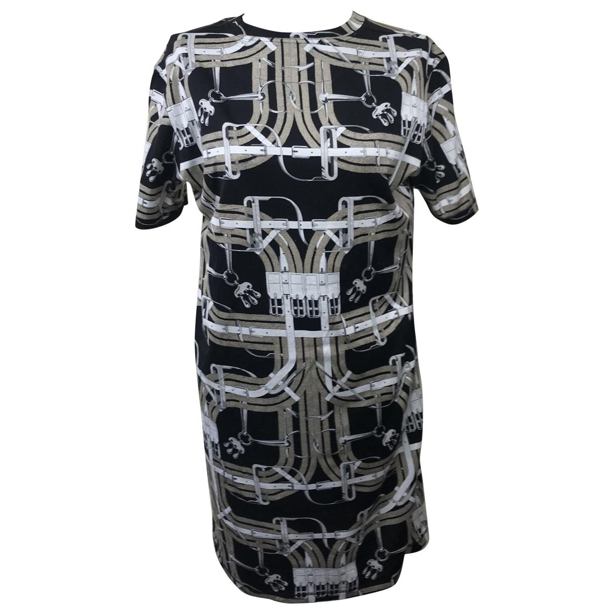 Hermes - Robe   pour femme en coton - elasthane - multicolore