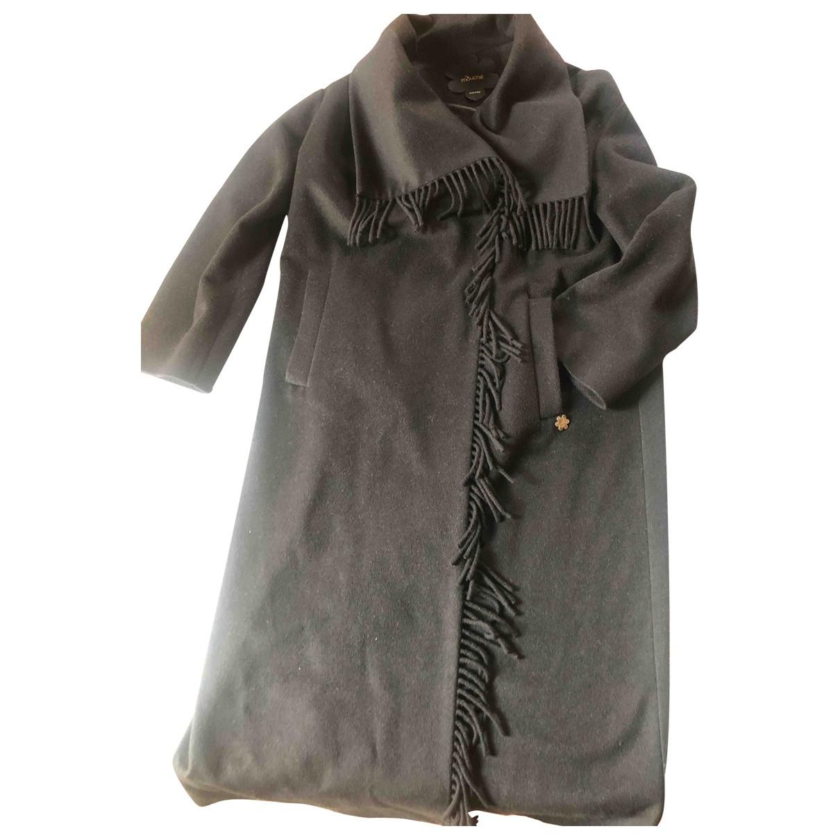 Non Signé / Unsigned \N Black coat for Women 42 IT