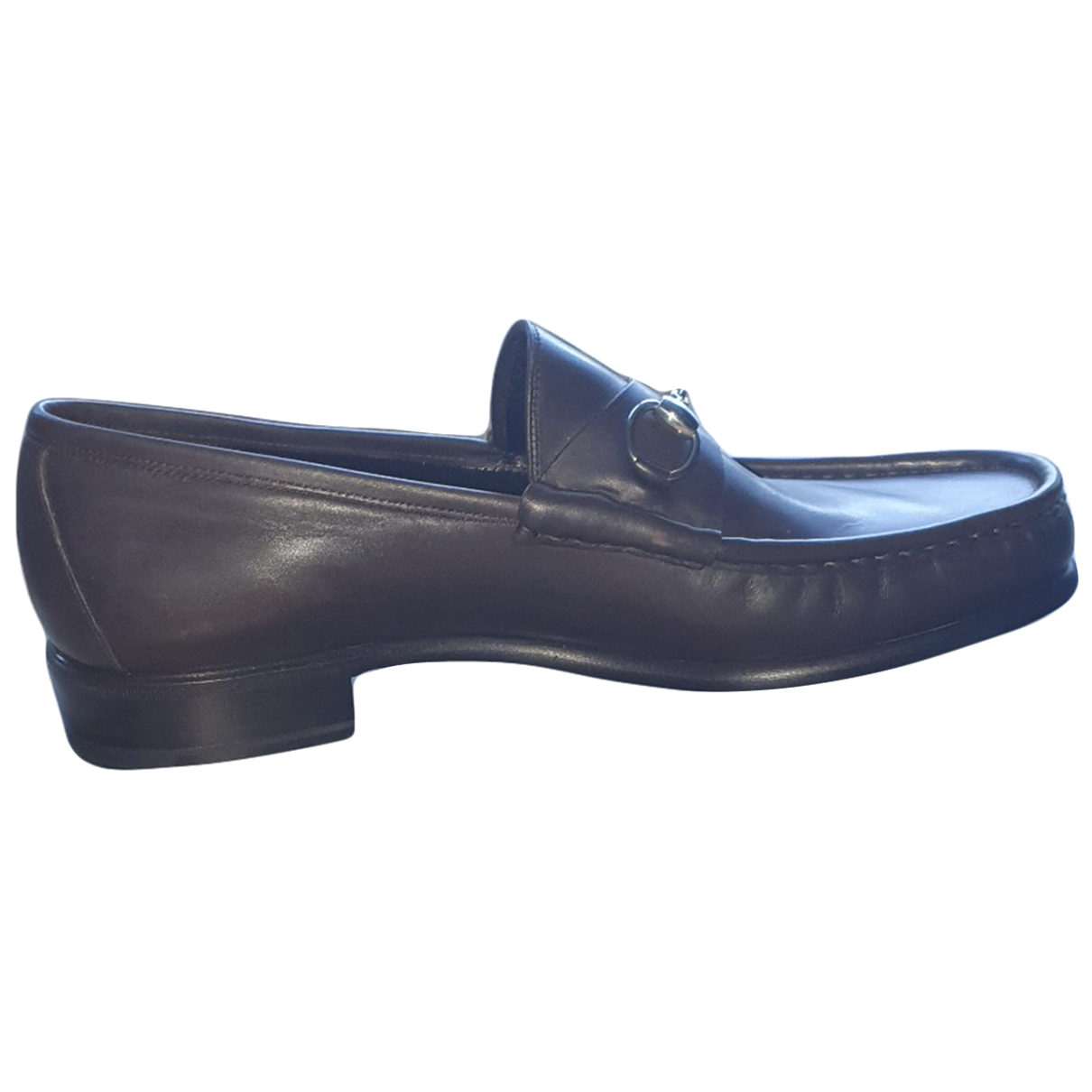 Gucci \N Brown Leather Flats for Men 39 EU