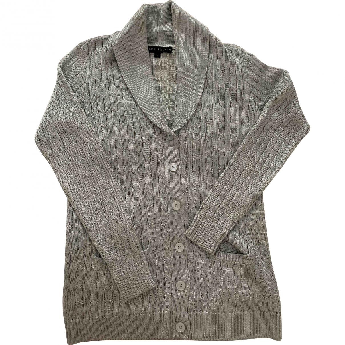Ralph Lauren \N Metallic Cotton Knitwear for Women S