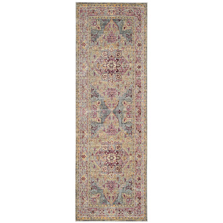 Safavieh Claremont Collection Justine Oriental Runner Rug, One Size , Multiple Colors
