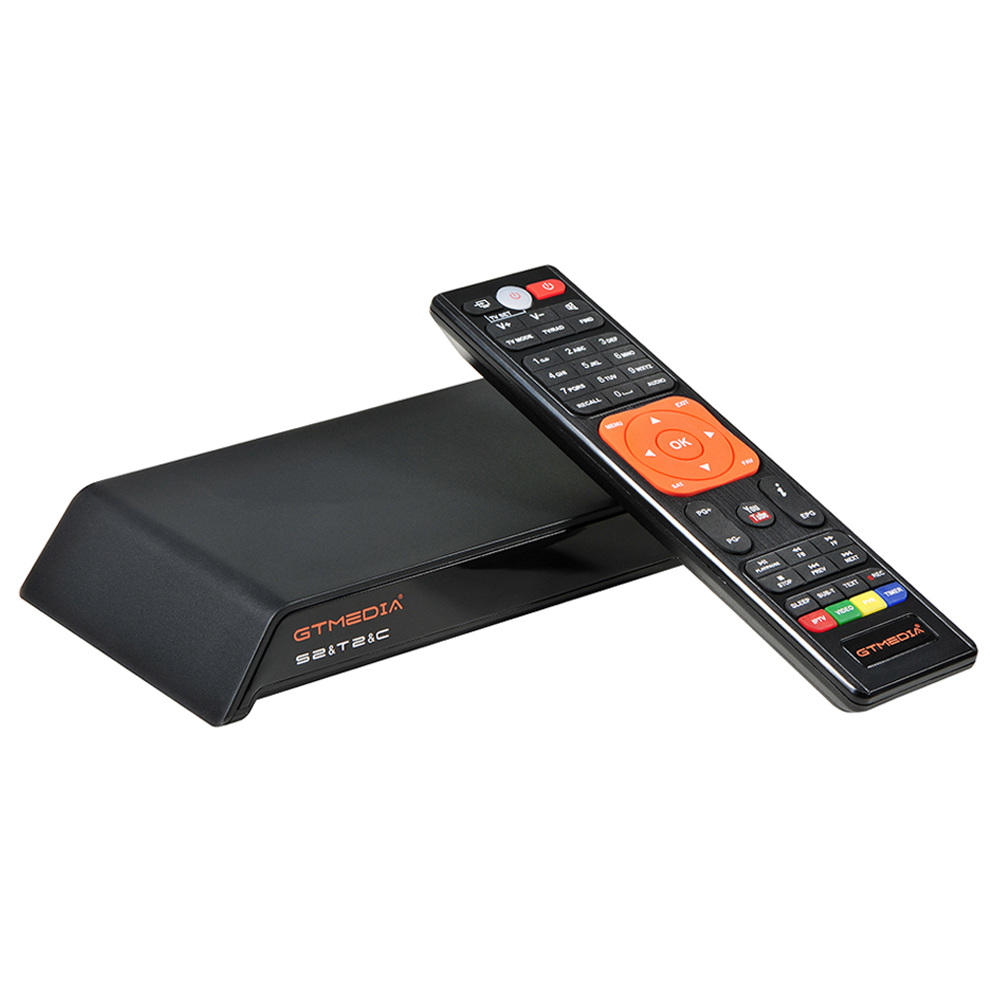 GTMEDIA V8 PRO2 DVB-S2/T2/C/ISDBT Full HD 1080P TV Box WiFi LAN Support IPTV Cccam