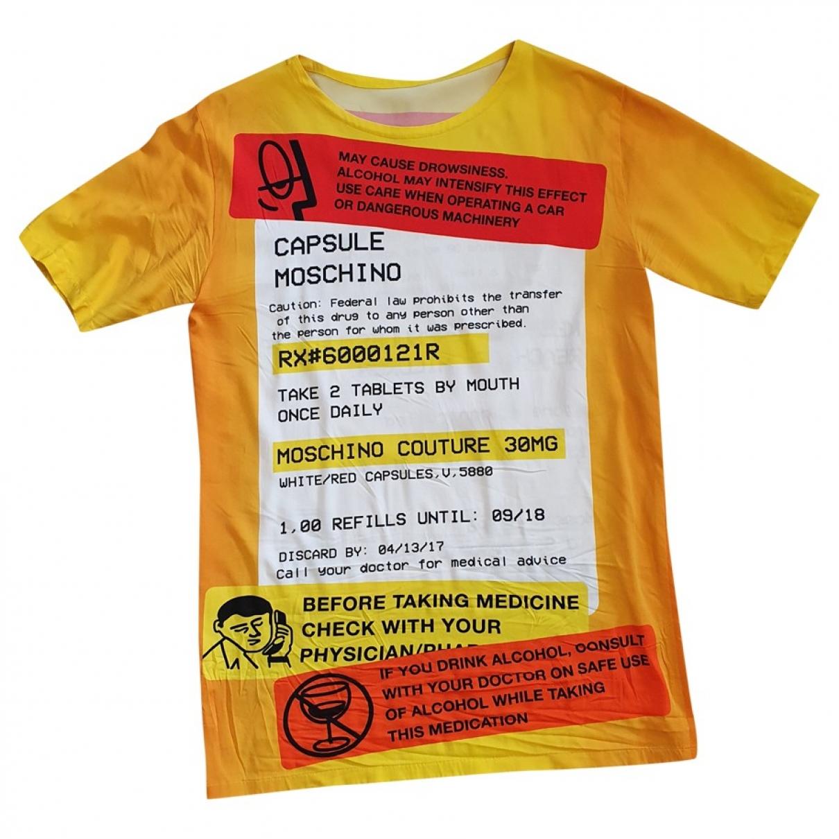 Moschino - Robe   pour femme - orange