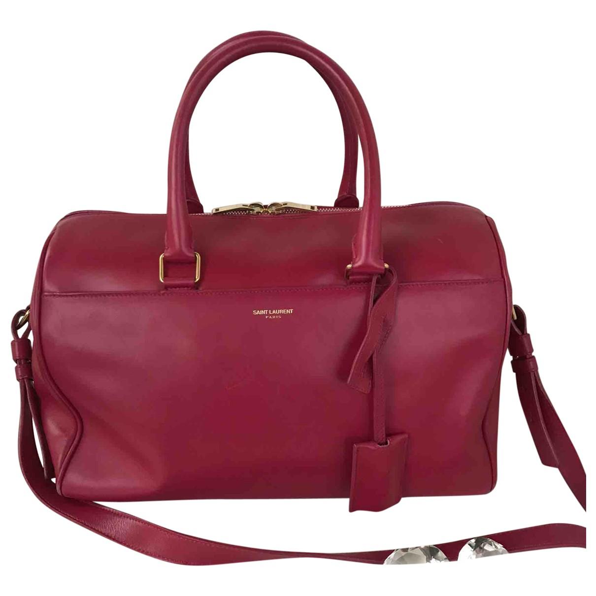 Saint Laurent \N Handtasche in  Braun Leder