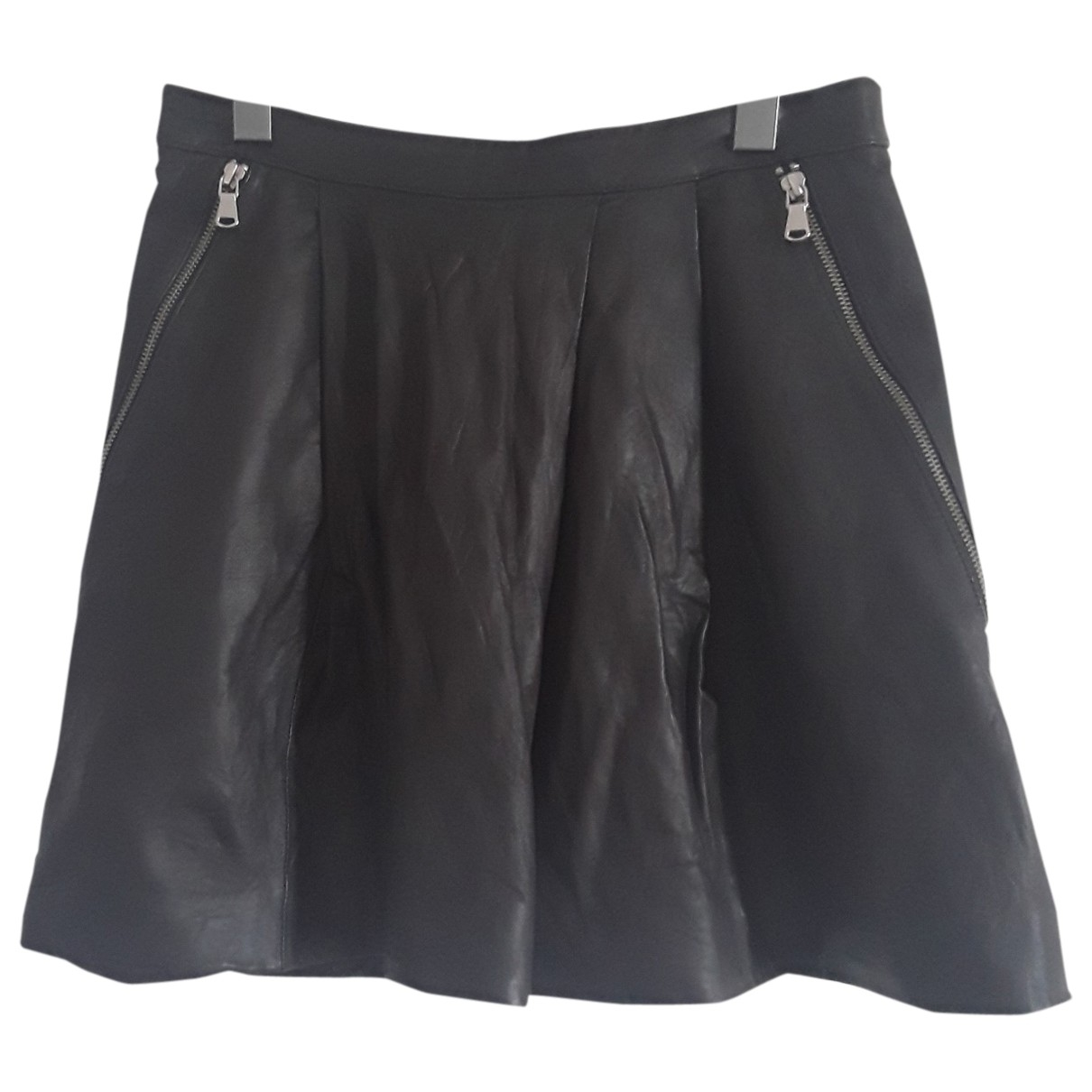 Marc By Marc Jacobs \N Black Leather skirt for Women 38 FR