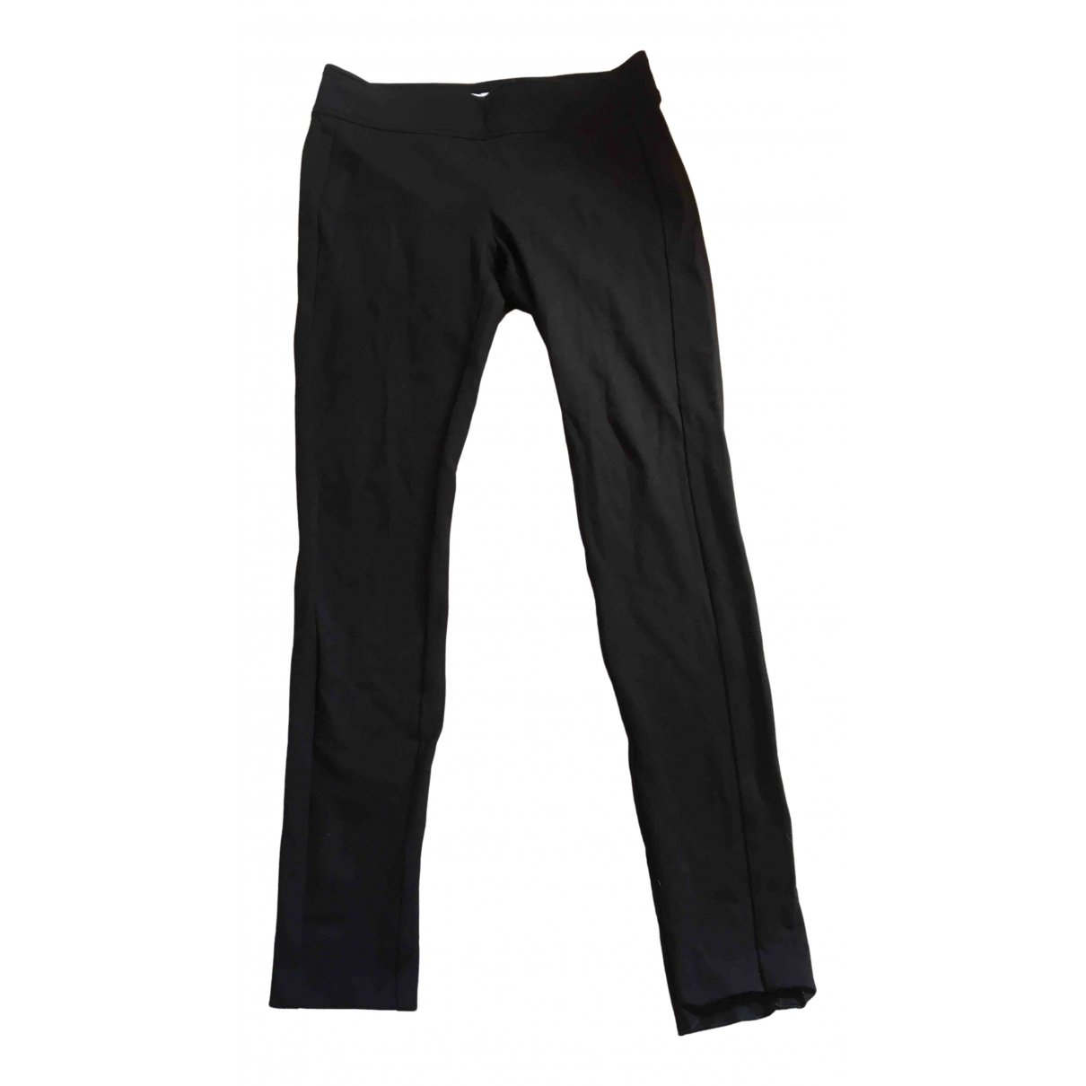 Diane Von Furstenberg \N Black Trousers for Women 8 US
