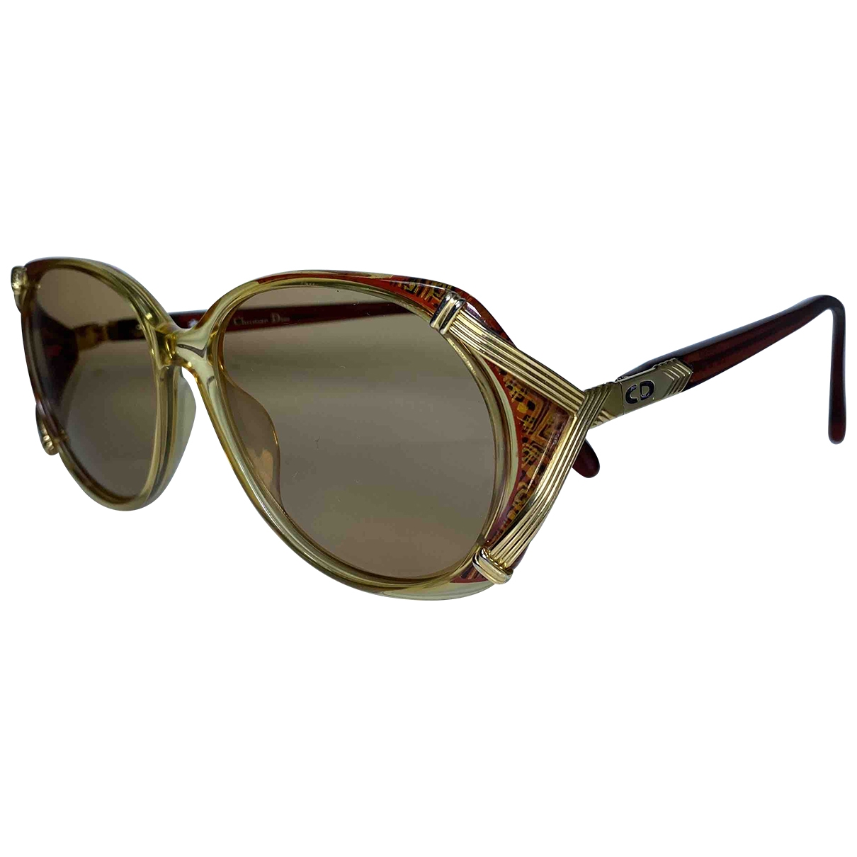 Dior \N Gold Sunglasses for Women \N