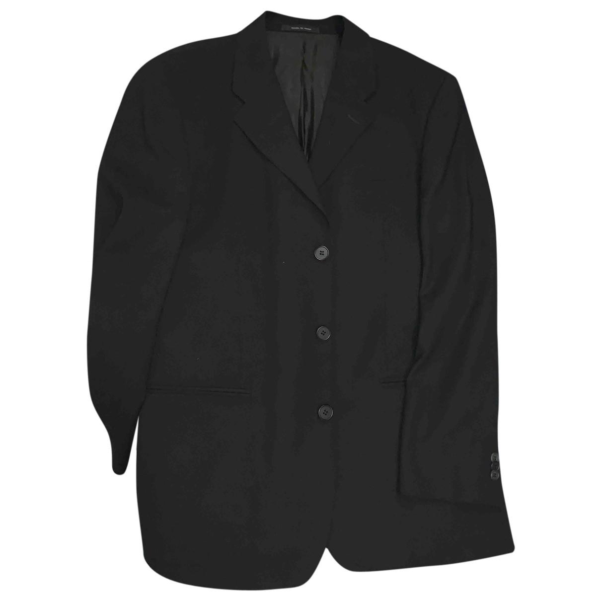 Giorgio Armani - Costumes   pour homme en coton - noir