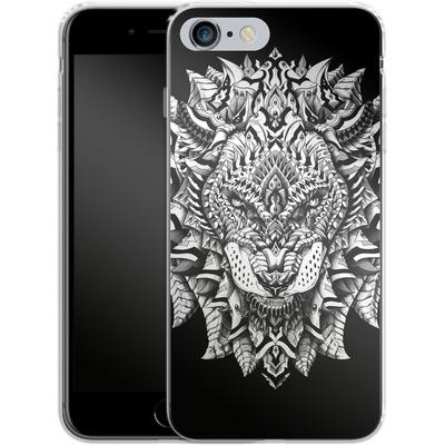 Apple iPhone 6 Plus Silikon Handyhuelle - Ornate Lion von BIOWORKZ