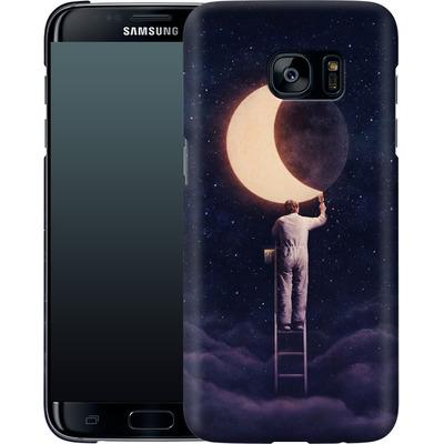 Samsung Galaxy S7 Edge Smartphone Huelle - Carpe Noctem Wide von Enkel Dika