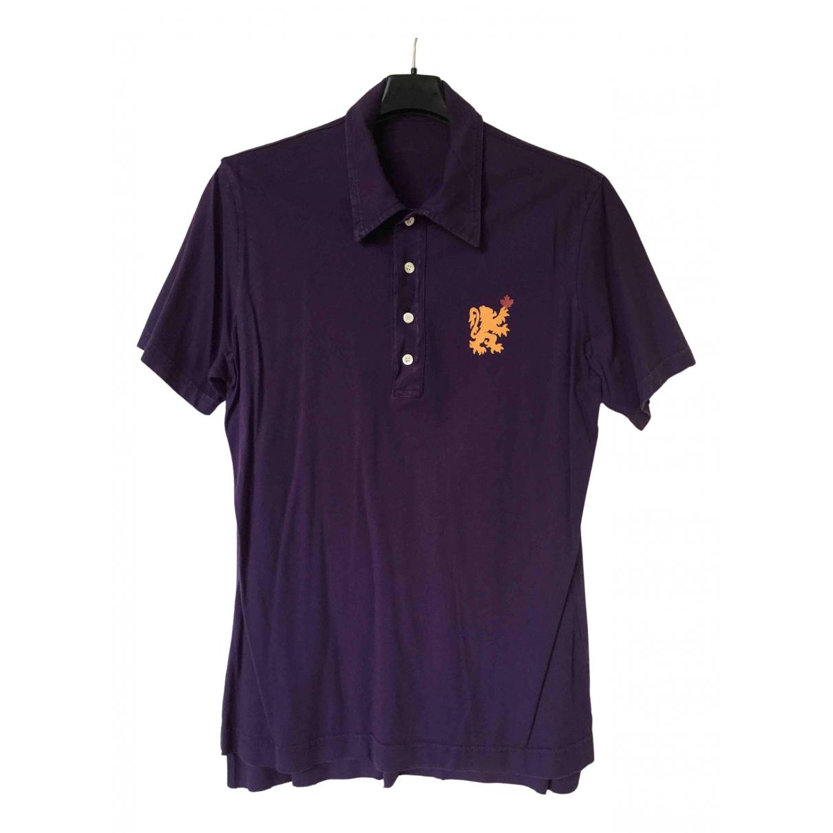 Dsquared2 - Polos   pour homme en coton - violet