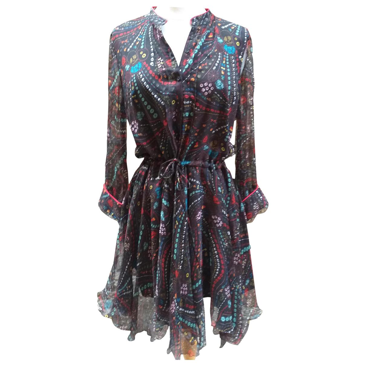 Zadig & Voltaire \N Kleid in  Schwarz Seide
