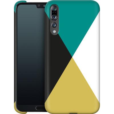 Huawei P20 Pro Smartphone Huelle - Four Triangles von caseable Designs