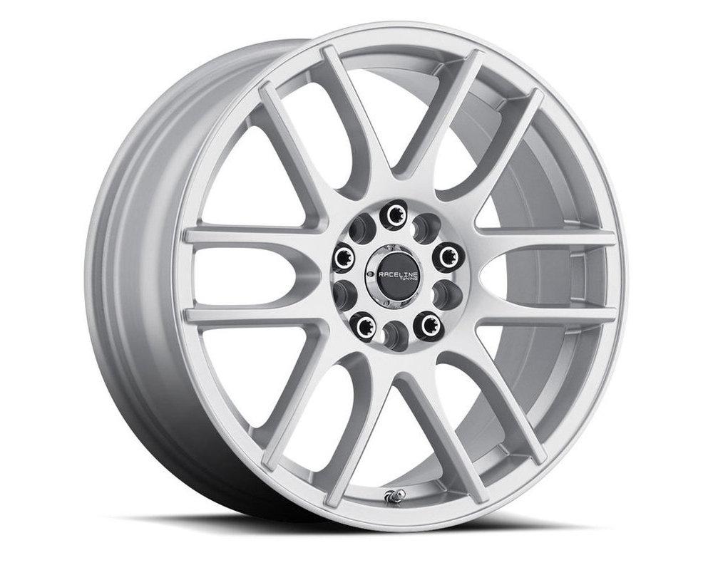 Raceline 141S Mystique Silver Wheel 18X7.5 5X108|5X114.3 42mm