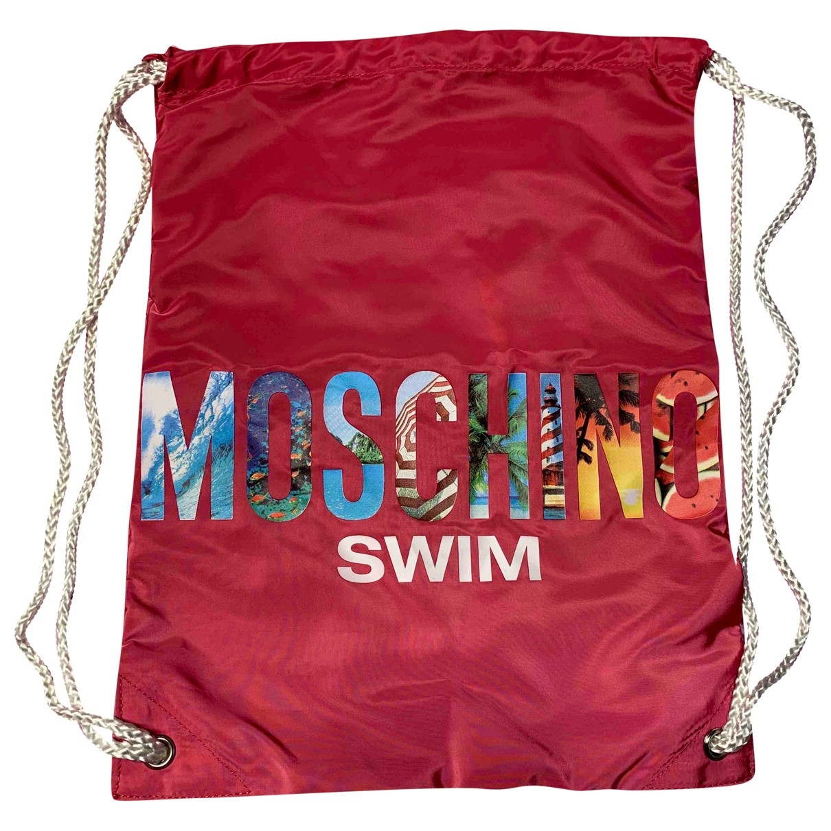 Moschino \N Rucksaecke in  Rosa Synthetik