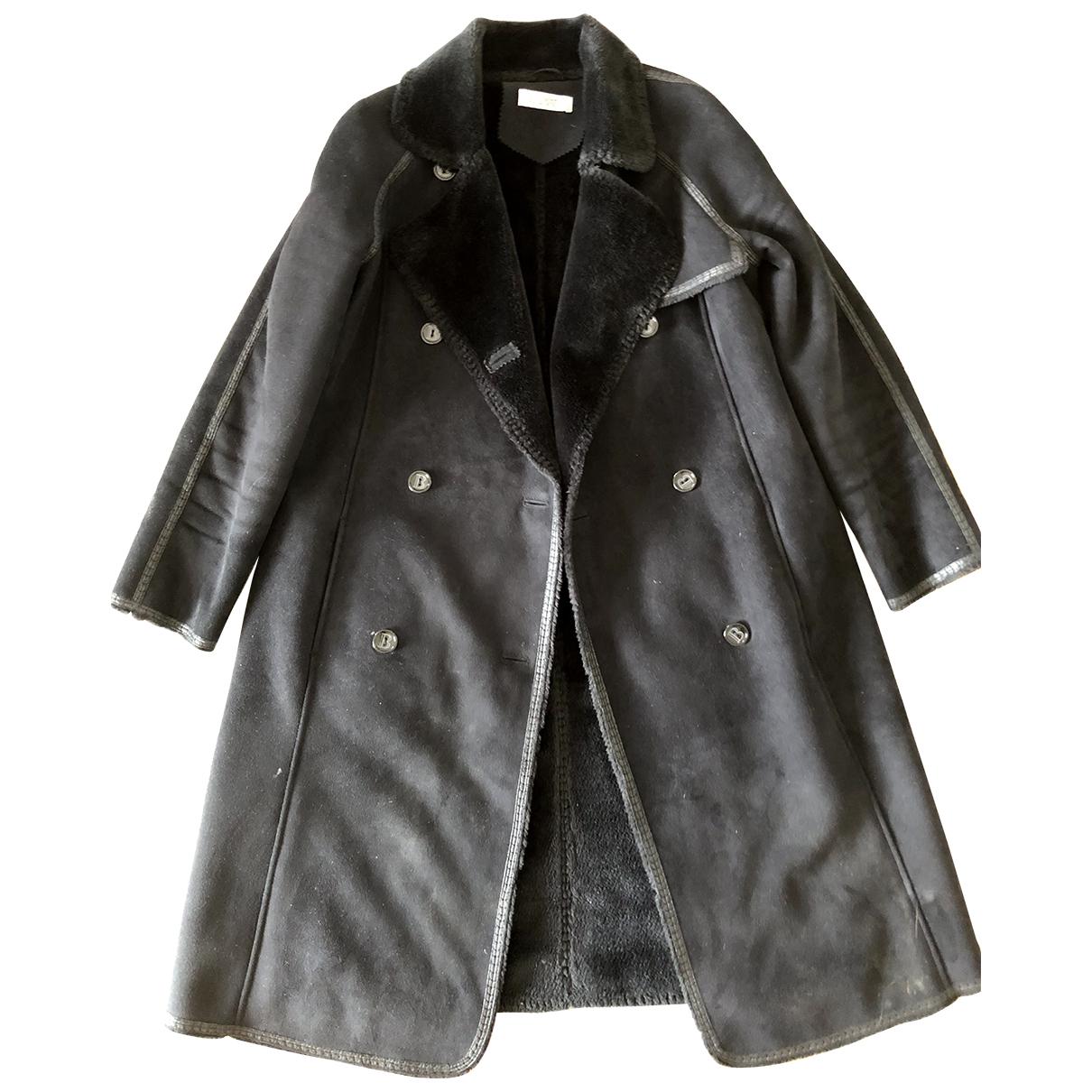 Balmain - Manteau   pour femme - noir