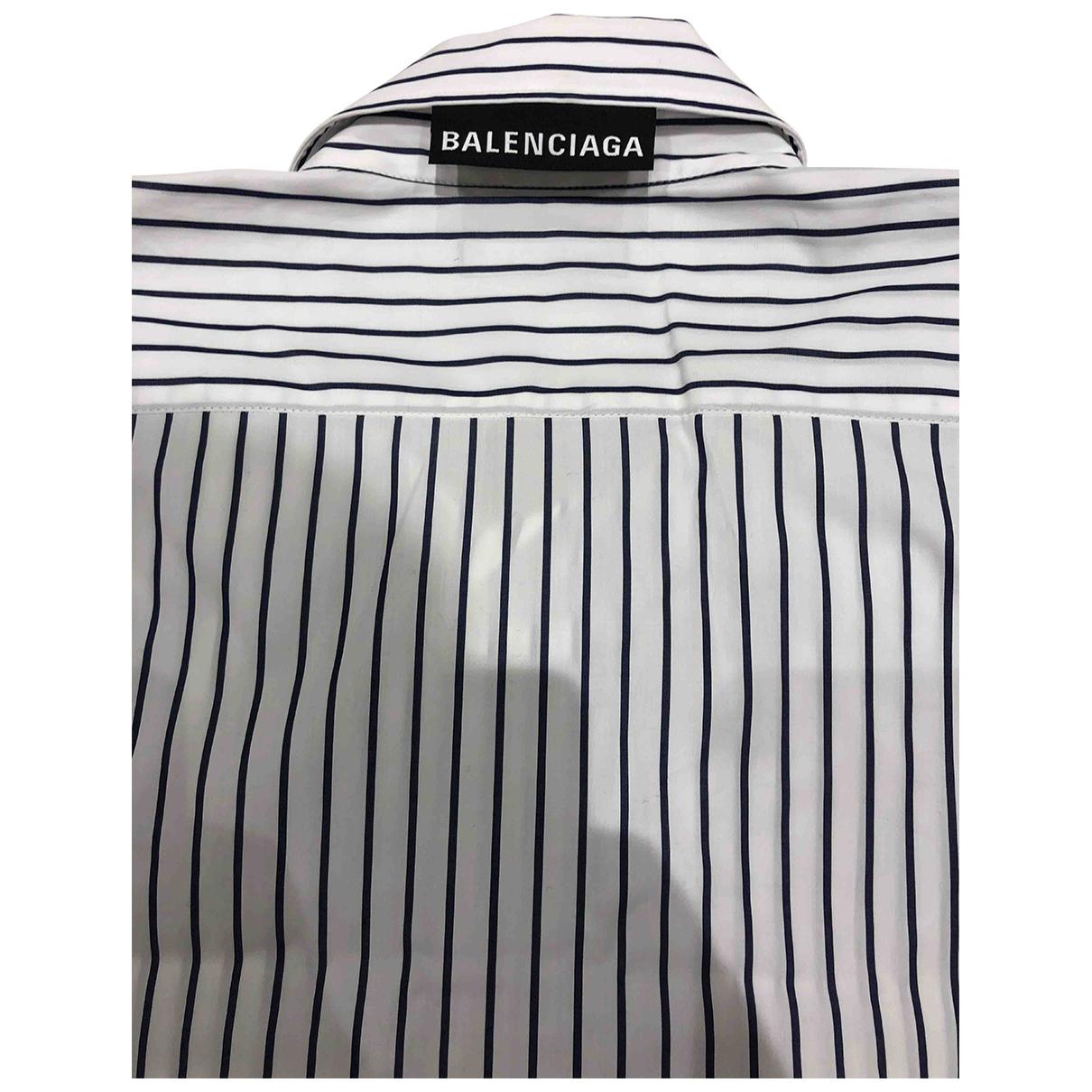 Balenciaga - Chemises   pour homme en coton - multicolore