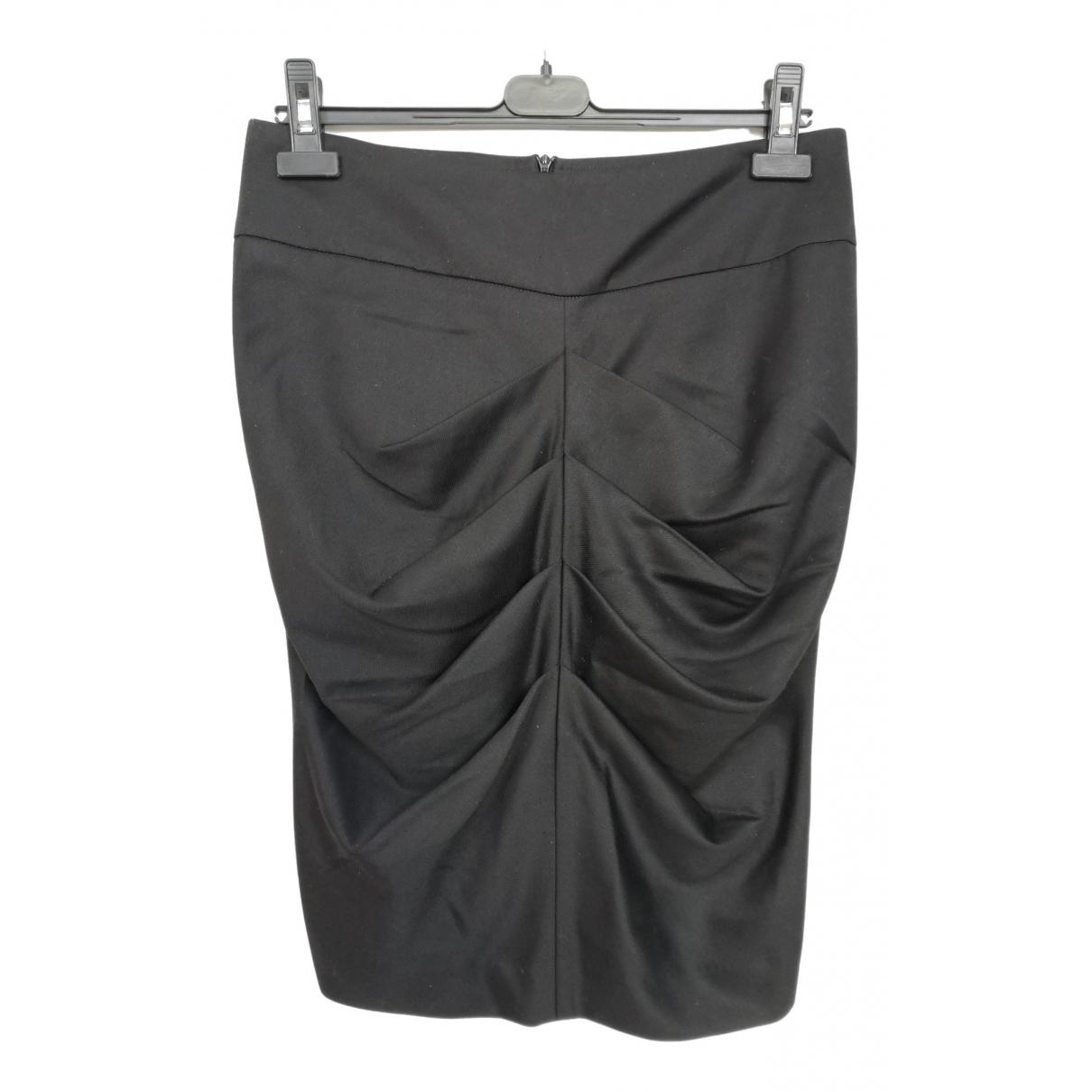 Patrizia Pepe - Jupe   pour femme en laine - noir