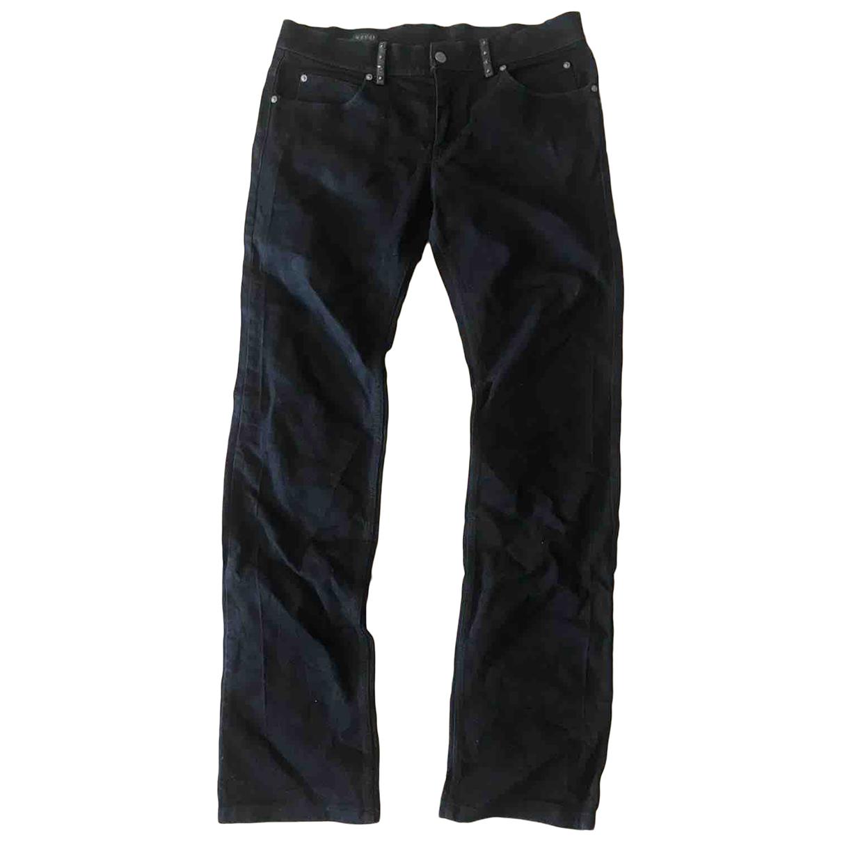 Gucci N Black Cotton Jeans for Men 34 US