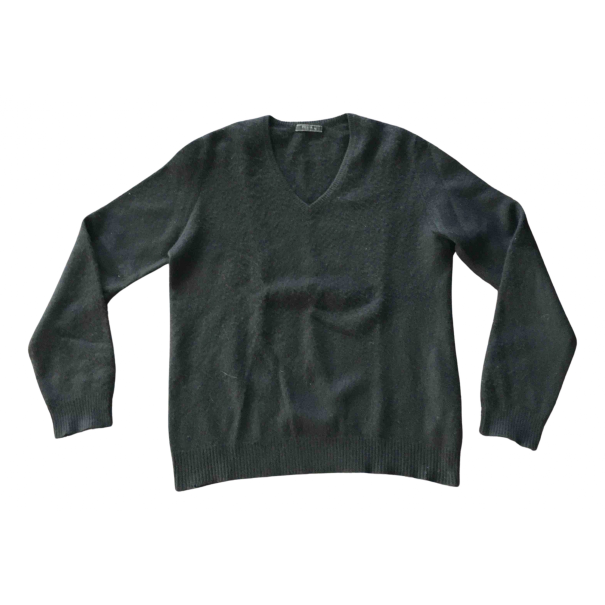 Prada \N Pullover.Westen.Sweatshirts  in  Schwarz Kaschmir