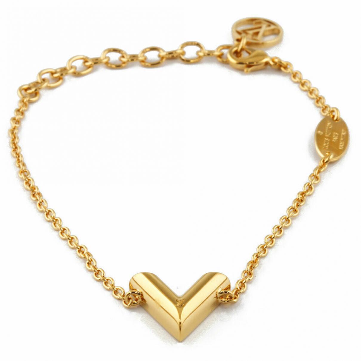 Louis Vuitton - Bracelet   pour femme en or jaune