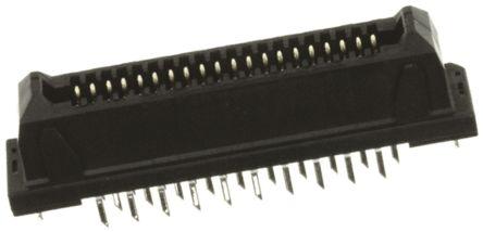 JAE 1.25mm Pitch 40 Way 2 Row Straight PCB Socket, Through Hole, Solder Termination (5)