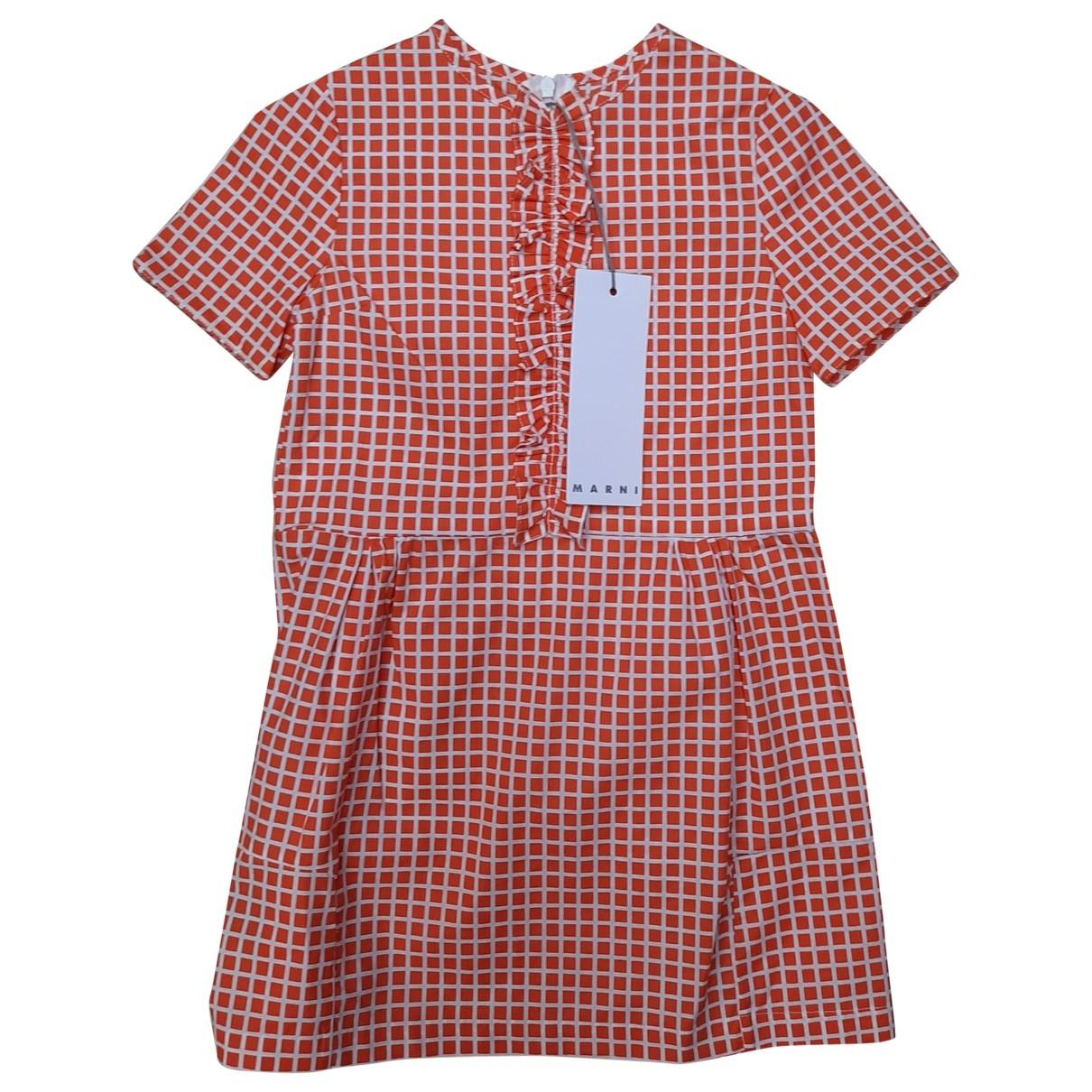Marni - Robe    pour enfant en coton - multicolore