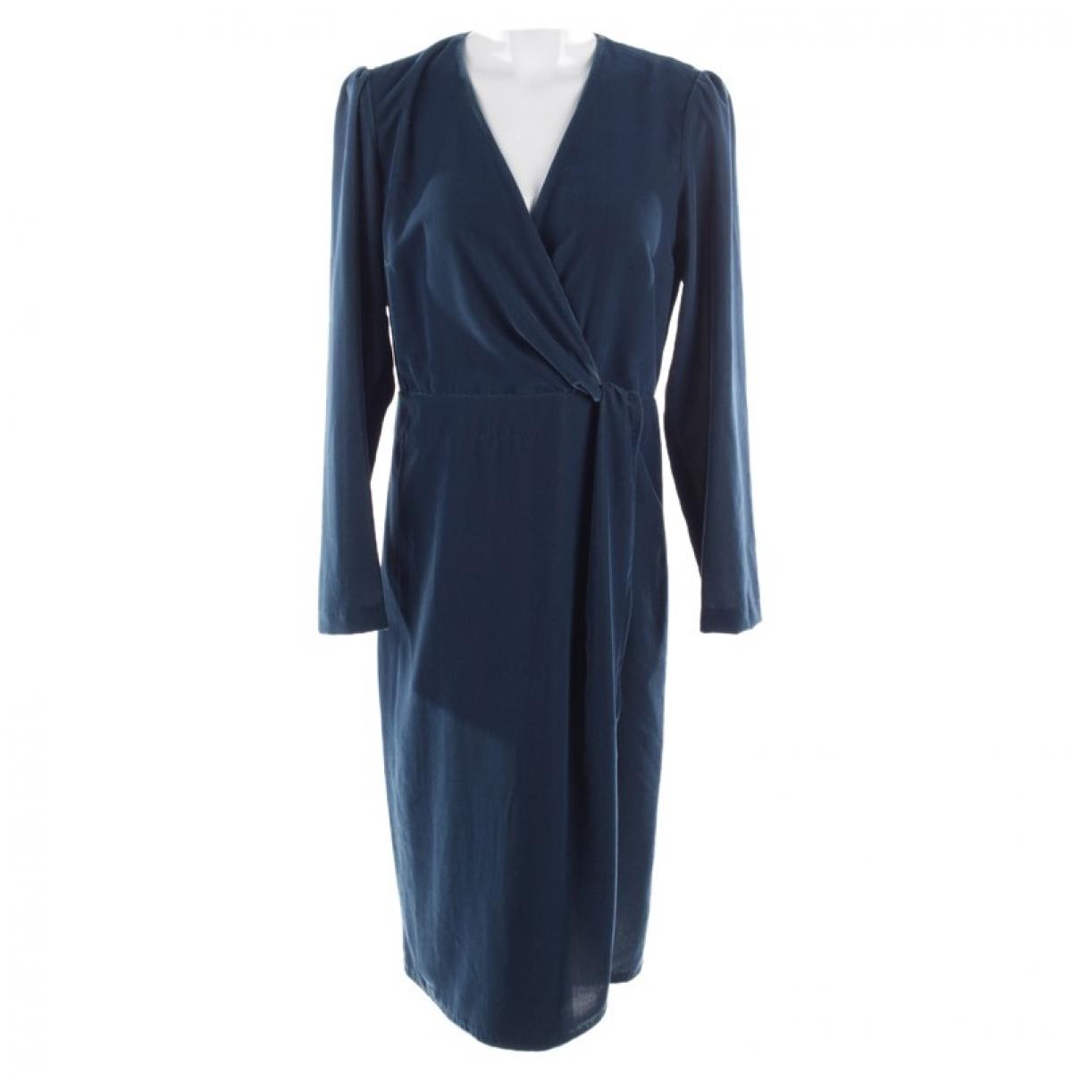 Set \N Kleid in  Blau Baumwolle
