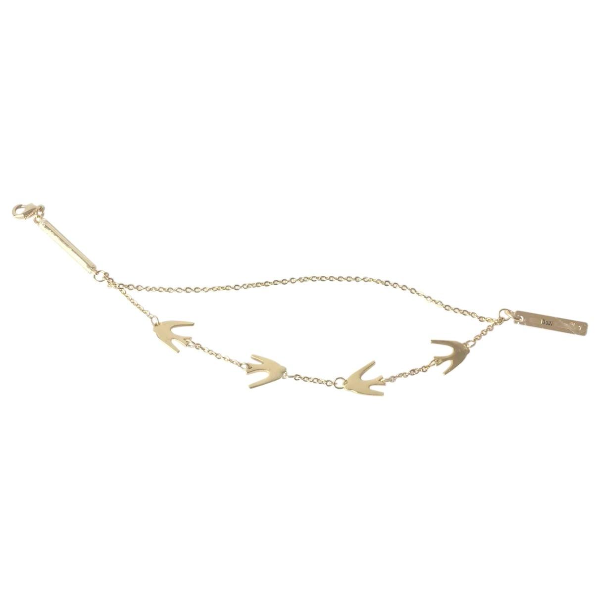 Mcq - Bracelet   pour femme en metal - dore