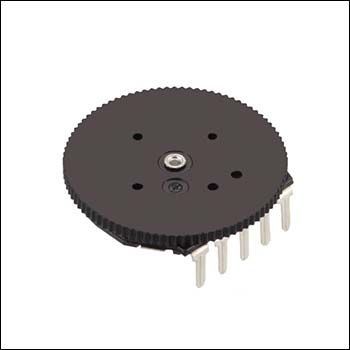 Alps Alpine 1 Gang Rotary Potentiometer, ±30%, 0.03W Power Rating, Linear, Through Hole (5)