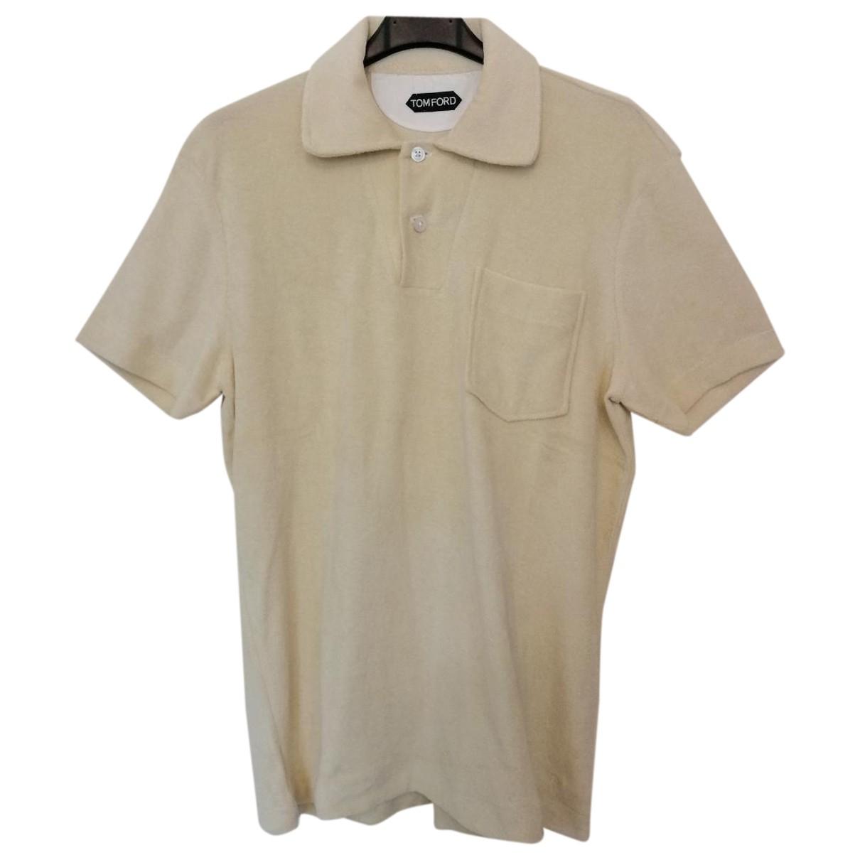 Tom Ford \N Poloshirts in  Beige Baumwolle