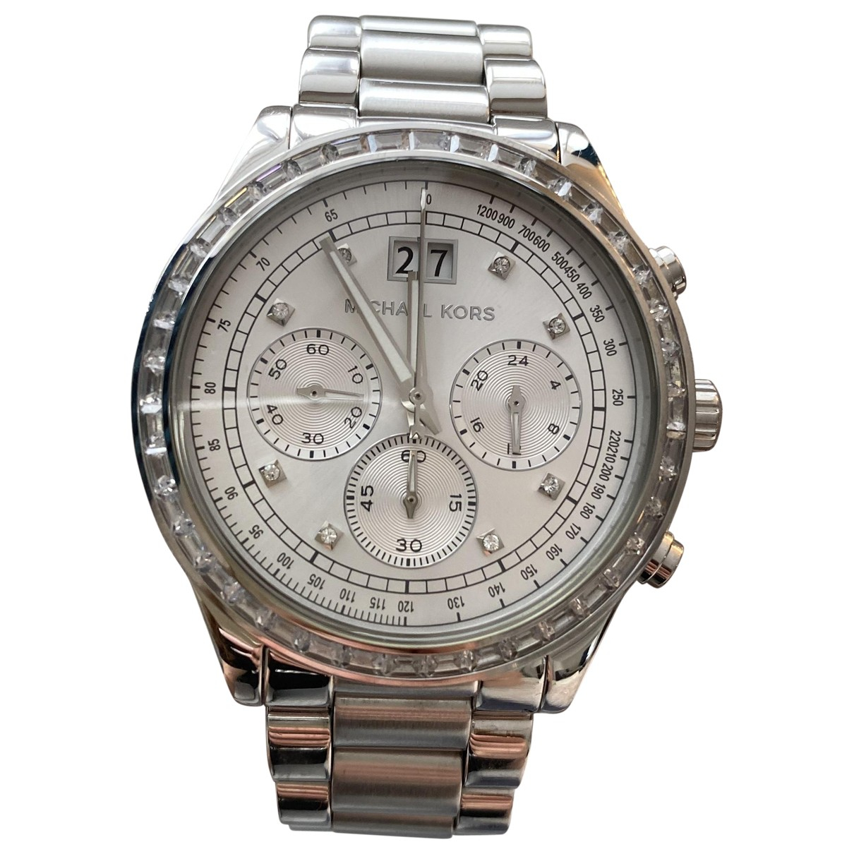 Michael Kors \N Silver Steel watch for Women \N
