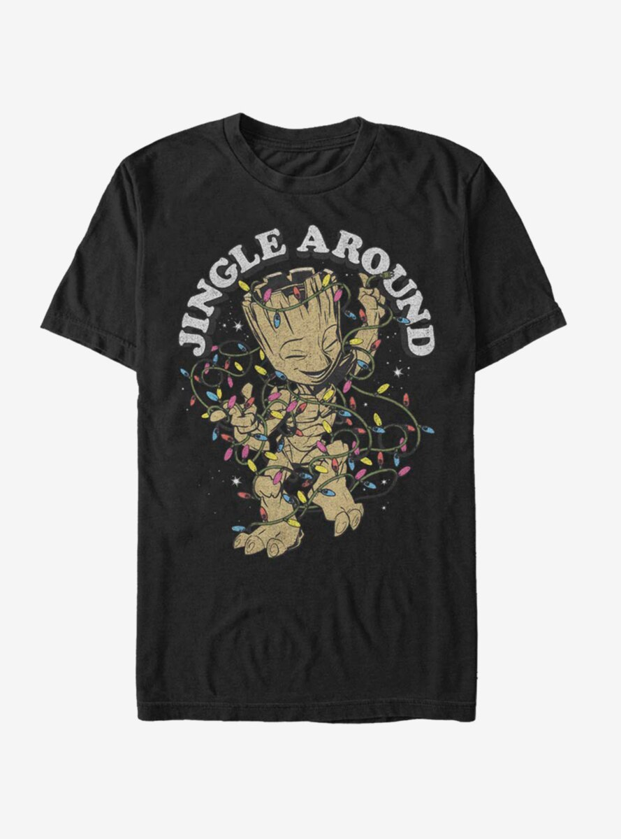 Marvel Guardians Of The Galaxy Jingle Groot T-Shirt
