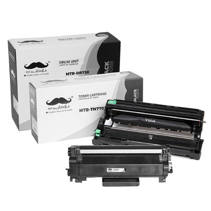 Compatible Brother MFC-L2710DW Toner and Drum Combo