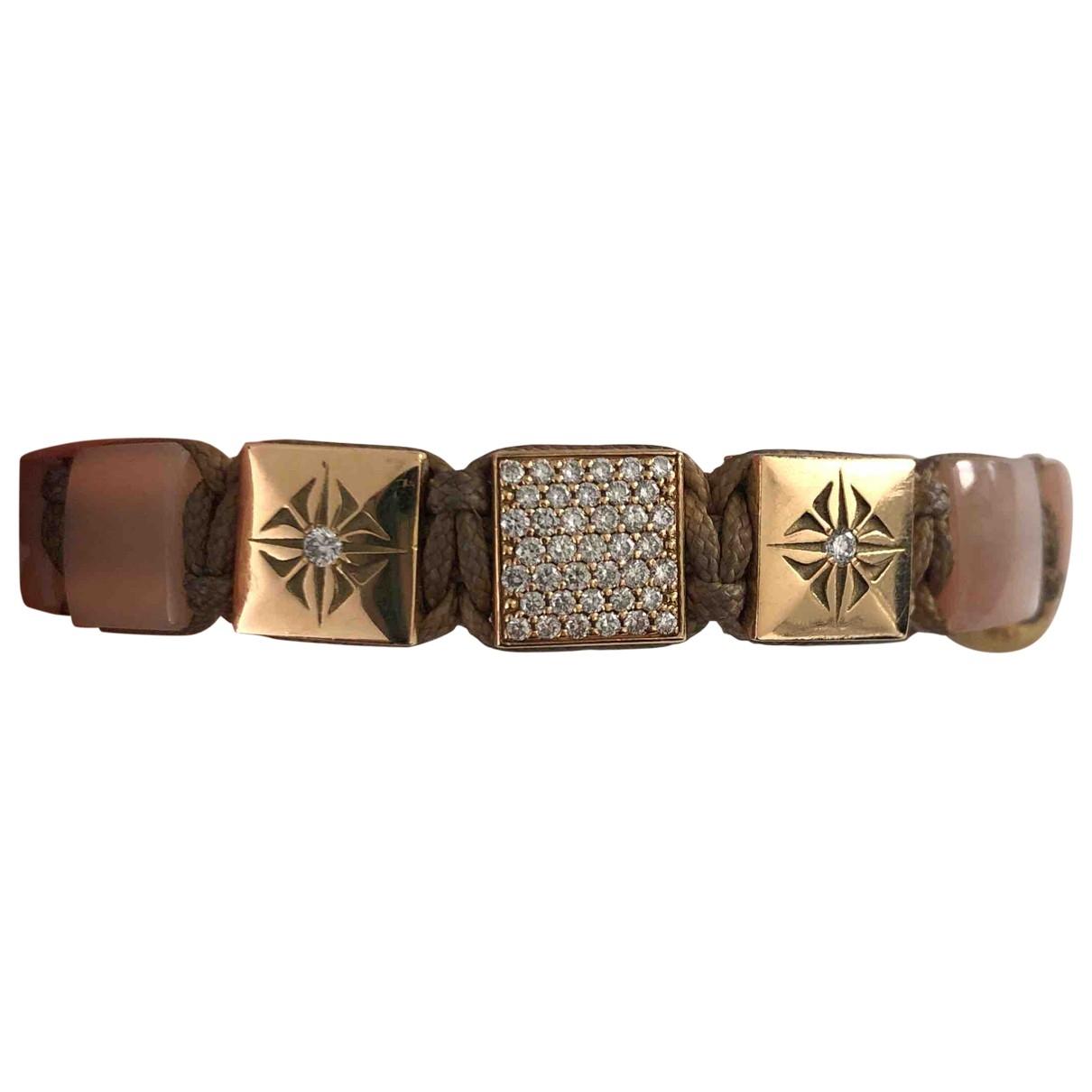 Shamballa Jewels - Bracelet   pour femme en or jaune - rose