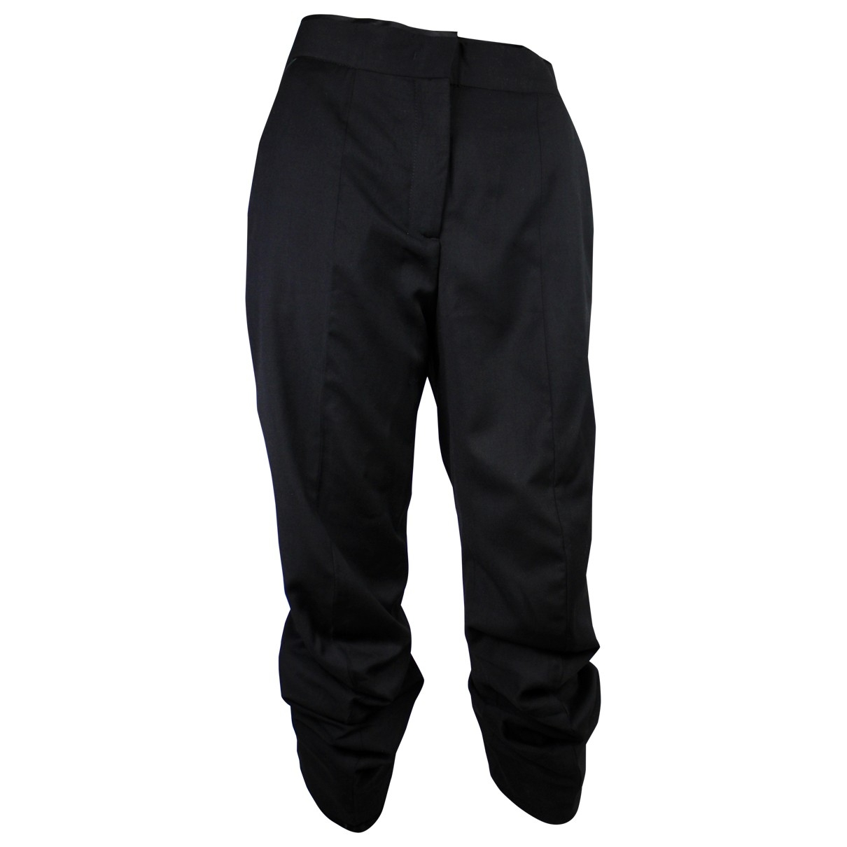 Mcq \N Black Trousers for Women 42 IT