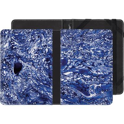 Kobo eReader Touch eBook Reader Huelle - Marbled Blue von Amy Sia