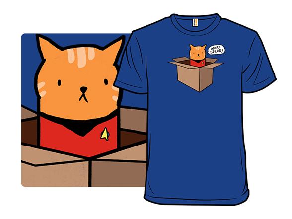 Starship Meowterprise T Shirt