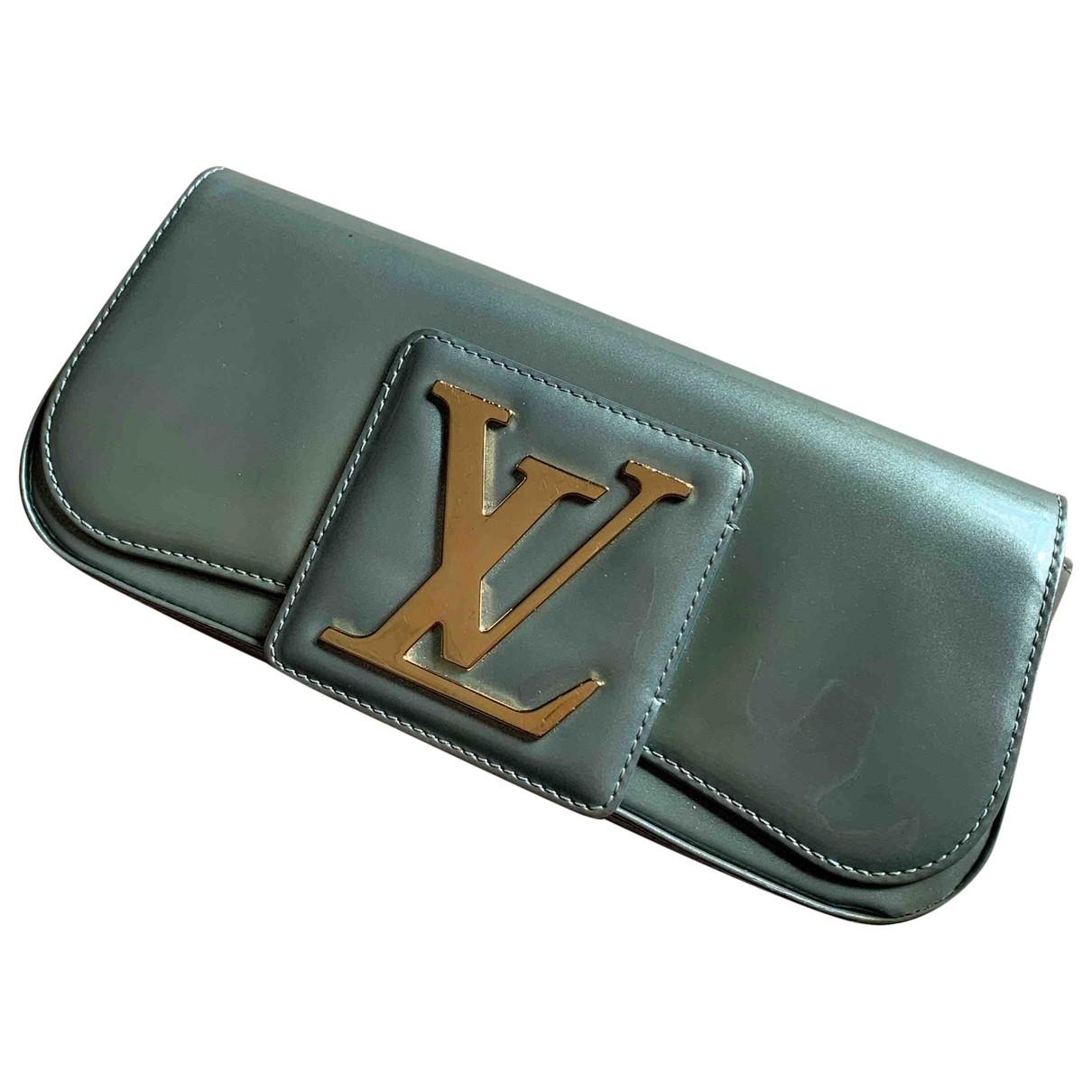 Louis Vuitton - Pochette Sobe pour femme en cuir verni - metallise