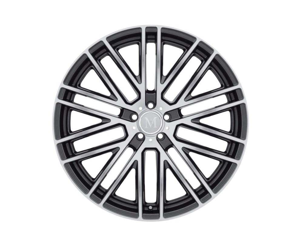 Mandrus Masche Wheel 17x8 5x112 42mm Gloss Gunmetal w/ Mirror Cut Face