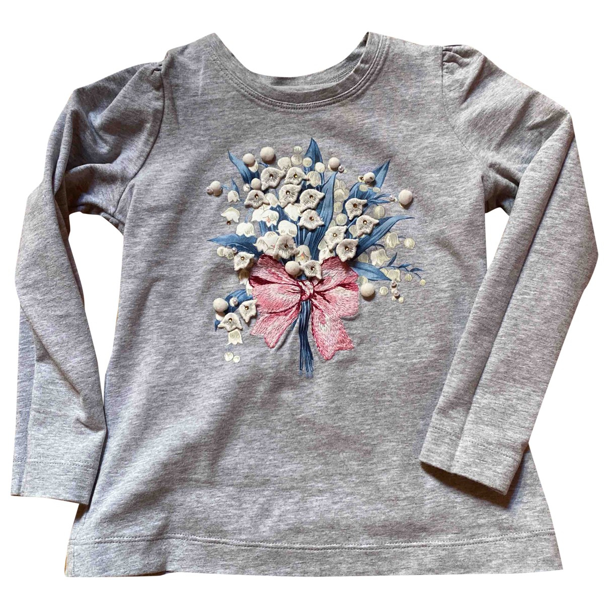 Monnalisa \N Grey Cotton  top for Kids 4 years - up to 102cm FR