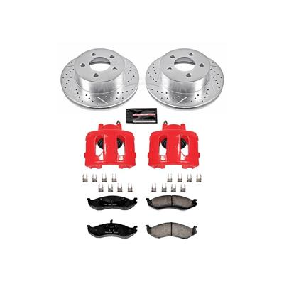 Power Stop Z23 Evolution Sport Performance 1-Click Brake Kit with Calipers - KC2152