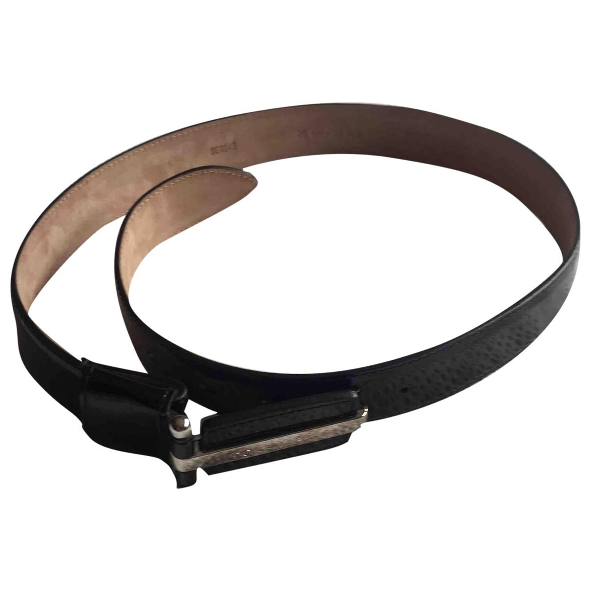 Cinturon de Charol Dolce & Gabbana