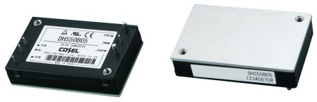 Cosel DHS 50W Isolated DC-DC Converter PCB Mount, Voltage in 200 → 400 V dc, Voltage out 5V dc
