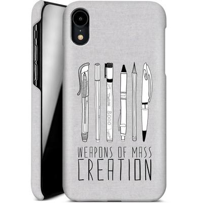 Apple iPhone XR Smartphone Huelle - Weapons Of Mass Creation von Bianca Green