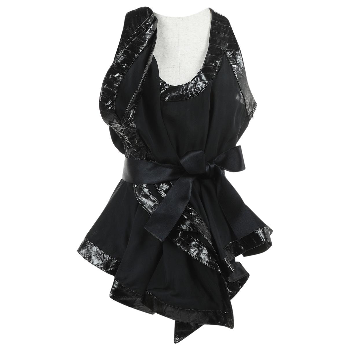 Givenchy \N Black Silk  top for Women 40 FR