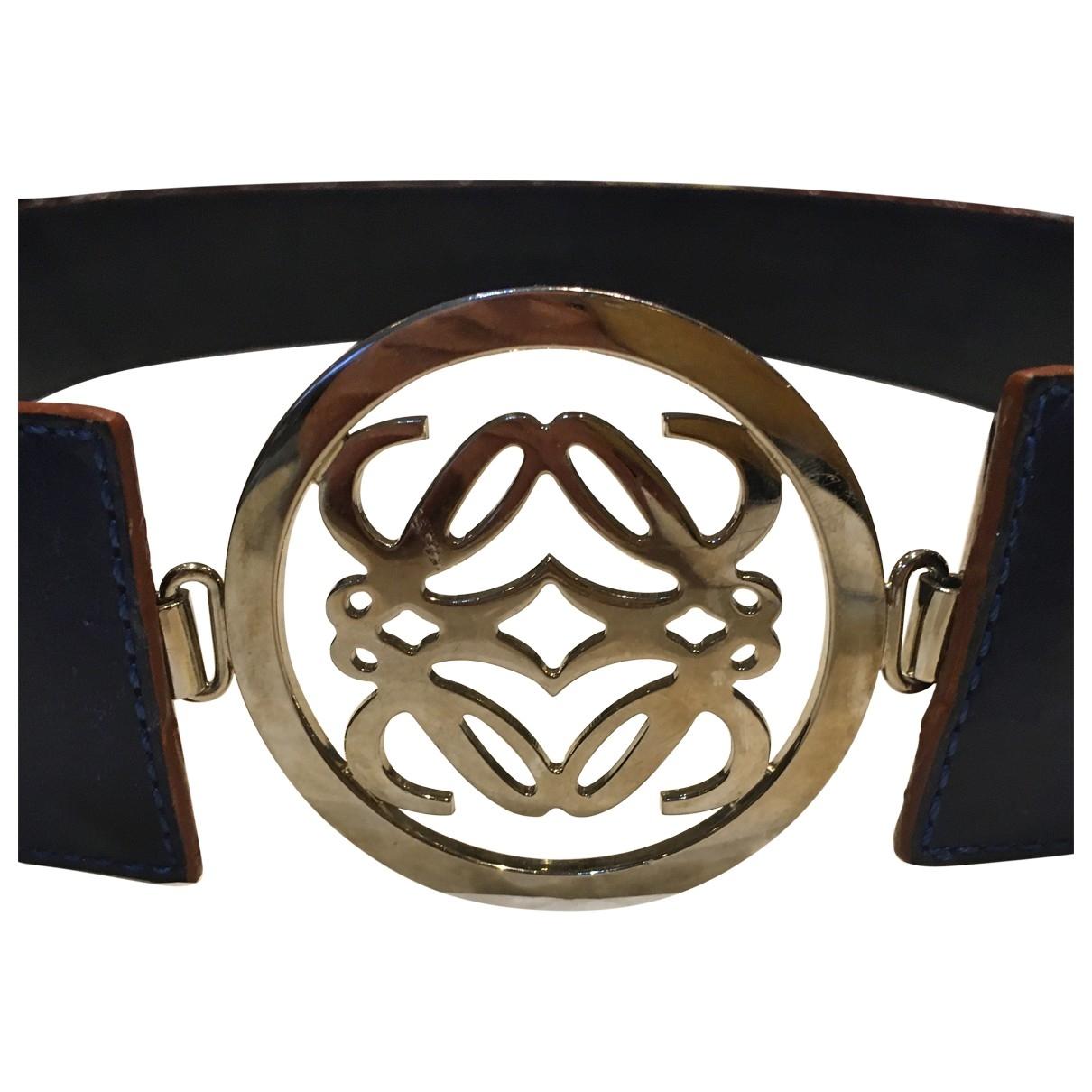 Loewe \N Leather belt for Women M International