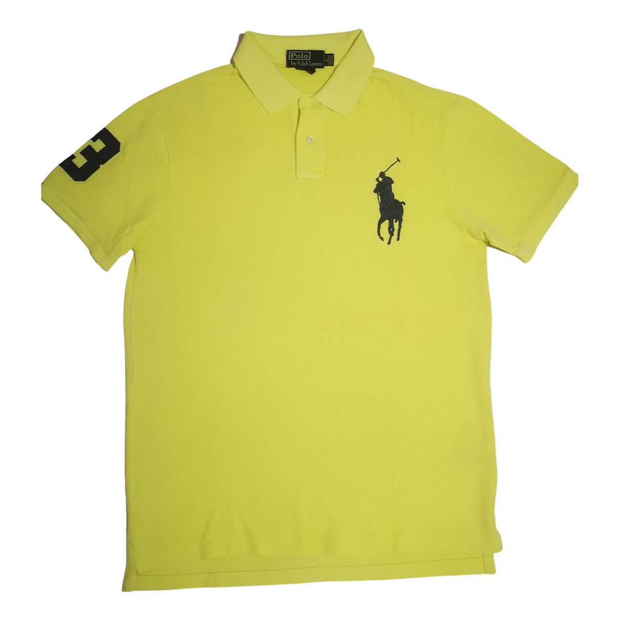 Polo Ralph Lauren \N Poloshirts in  Gelb Baumwolle